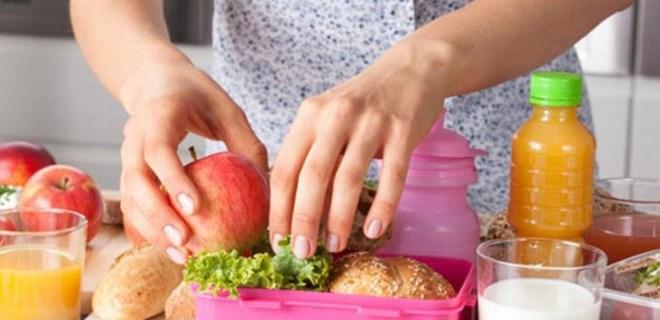 Beslenme çantası hastalıklardan koruyor