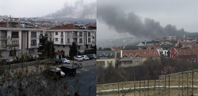 İstanbul'da helikopter düştü!...