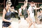 Şeyma Subaşı'ndan 'plaj futbolu' paylaşımı