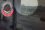 İstanbul'da helikopterin düşme anı kamerada