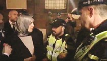 Hollanda polisinden skandal sözler
