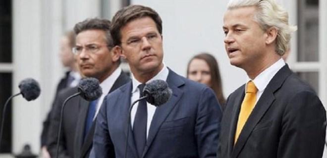 Hollandalı ırkçı lider Wilders'ten çirkin mesajlar!