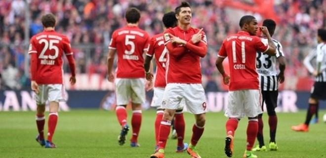 Bayern Münih farkı artırdı