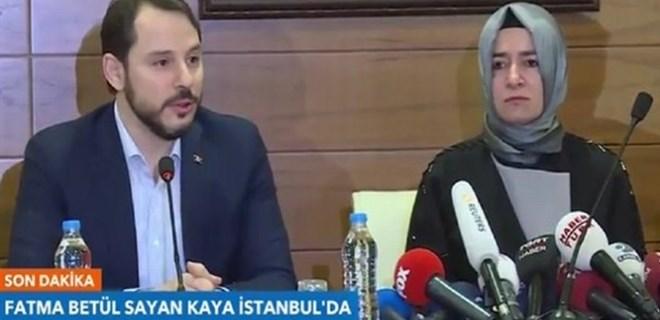 Bakan Kaya İstanbul'a geldi
