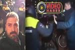 Hollanda polisinden Erhan Çelik'e saldırı!