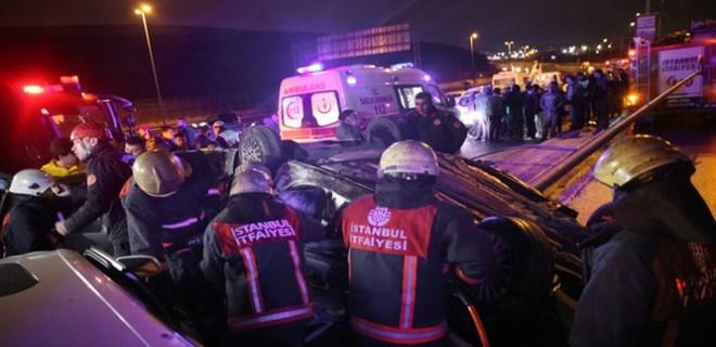 İstanbul Sefaköy'de feci kaza: 1 ölü