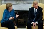 Trump, Angela Merkel'in elini sıkmadı!