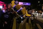 Kadıköy'de kan donduran trafik kazası!