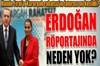 Cumhurbaşkanı Erdoğan CNN Türk - Kanal D ortak yayınında Doğan TV Ankara Temsilcisi Hakan Çelik'in...