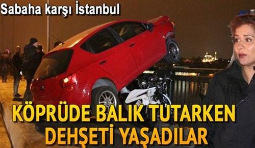 Unkapanı köprüsünde feci trafik kazası!