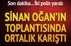 MHP'den ihraç edilen Sinan Oğan 'Hayırlı Olsun Yürüyüşü' programı kapsamında Yozgat'a geldi. Salon...