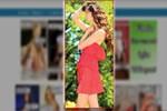 Ukraynalı model sosyal medya mağduru oldu!
