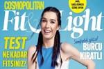 Burcu Kıratlı Cosmopolitan dergisinin kapağında!