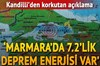 Kandilli Rasathanesi ve Deprem Araştırma Enstitüsü Müdürü Prof. Dr. Haluk Özener,