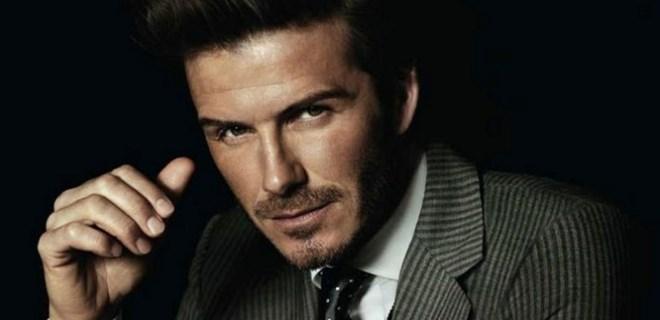 David Beckham'ın korkutan görüntüsü