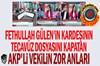 Fethullah Gülen'in kardeşinin tecavüz dosyasını kapatan AKP'li vekilin zor anları... AKP...