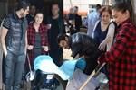 Pelin Karahan hastaneden taburcu oldu