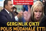 Bakan Eroğlu'nun programında 'soru' gerginliği!