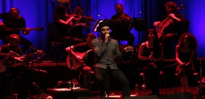 Gökhan Türkmen'den eski mahallesinde konser