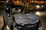 Dehşet veren trafik kazası!