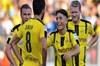 Dortmund perişan etti