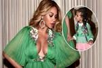 Beyonce'un kızı 26 bin dolarlık elbise giydi