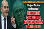 İçişleri Bakanı Süleyman Soylu'dan Ertuğrul Özkök'e yaylım ateşi!