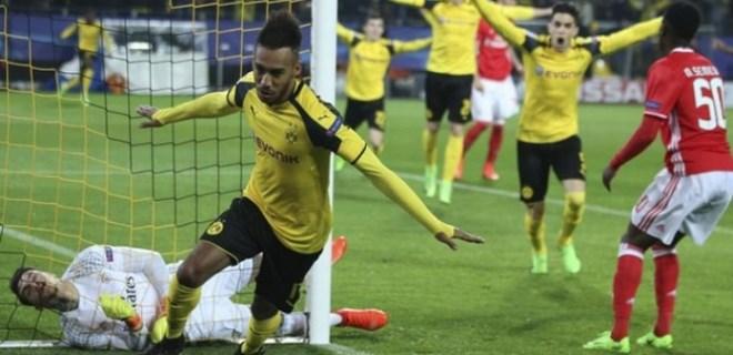 Dortmund 4 golle çeyrek finalde