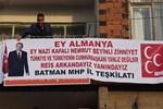 MHP'li başkandan dikkat çeken pankart
