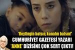 Orhan Bursalı'dan 'Anne' dizisine sert eleştiri!