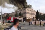 Tekirdağ'da tekstil fabrikasında patlama!