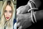 Genç kadının yalanını kamera ortaya çıkardı
