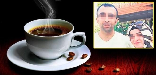 Eşine 'asitli kahve' ikram eden kocaya tahliye!