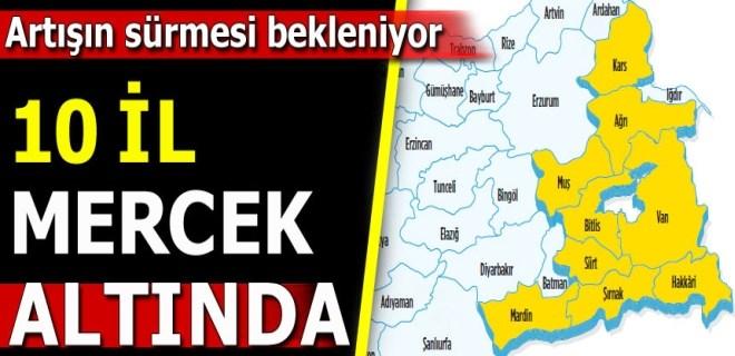 AK Parti'ye Doğu morali
