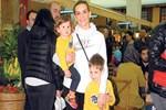 Esra Erol hafta sonunu çocuklarına ayırdı