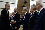 Devletin zirvesi AYM'nin kuruluş yıldönümünde buluştu