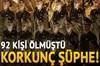 """Geçen yılın Aralık ayında Suriye'ye Rus askerlerine """"moral konseri"""" için giderken Soçi yakınlarında..."""