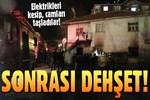 Ankara'da Suriyeliler'in kaldığı gecekondu kundaklandı!