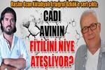Rasim Ozan Kütahyalı Ertuğrul Özkök'e sert çıktı