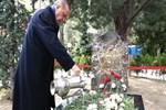 Erdoğan Alparslan Türkeş'in kabrini ziyaret etti