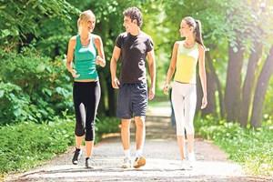 Sağlıklı vücut için günde 10 bin adım