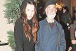 Selma Ergeç babasıyla poz verdi