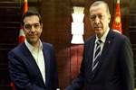 Cumhurbaşkanı Erdoğan, Aleksis Çipras'ı kabul etti