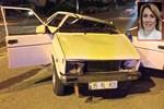 Asuman Dabak Çeşme'de trafik kazası geçirdi!