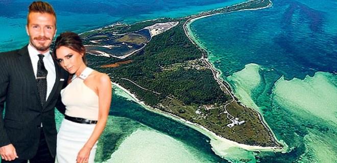 Beckham'dan 20'nci yıla özel ada!