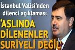 İstanbul Valisi: