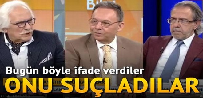 Mustafa Armağan ve Yavuz Bahadıroğlu ifade verdi