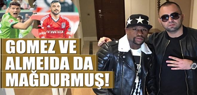 Gomez ve Almeida da mağdurmuş!