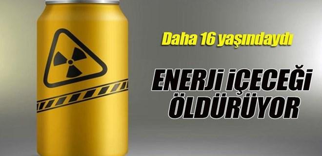 Fazla enerji içeceği genç yaşta öldürdü!
