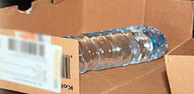1290 liralık pet şişe!
